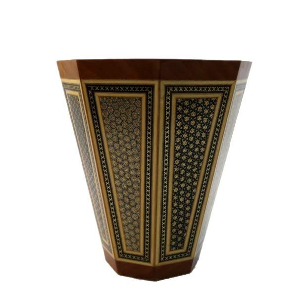 Khatam-kari Persian Wooden Bucket