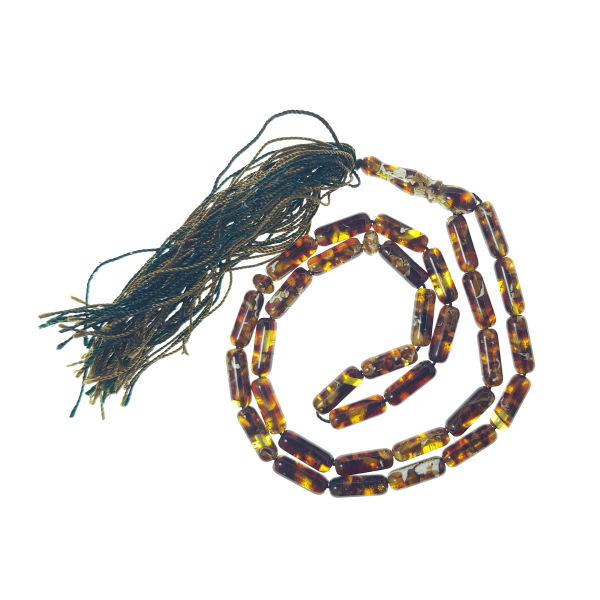 Amber Rosary Muslim Prayer Beads Tasbih