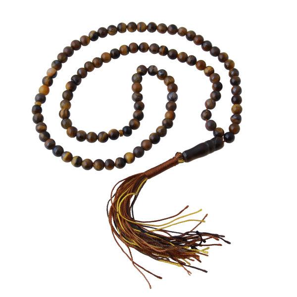 Silver Misbaha Islamic Prayer Beads - Bazargani Miladi