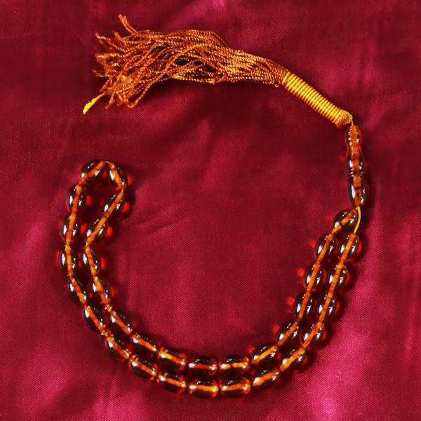Tespih Islamic Prayer Beads - Model Amber Celine