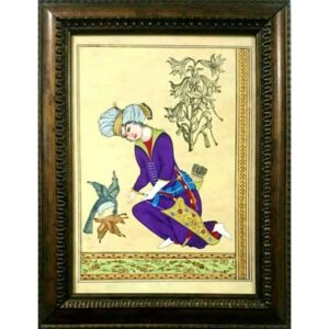 Persian Watercolor Hand Painted Miniature Art