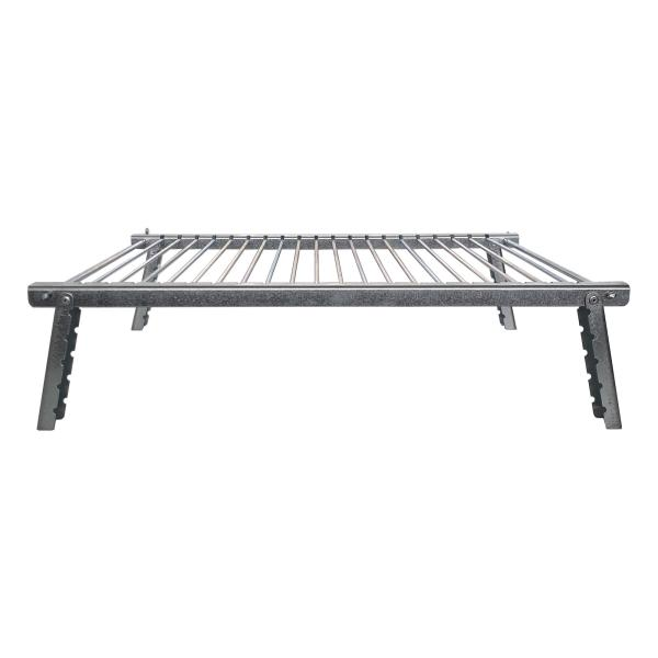 Camping Style Stainless Steel Grill for Kabobs