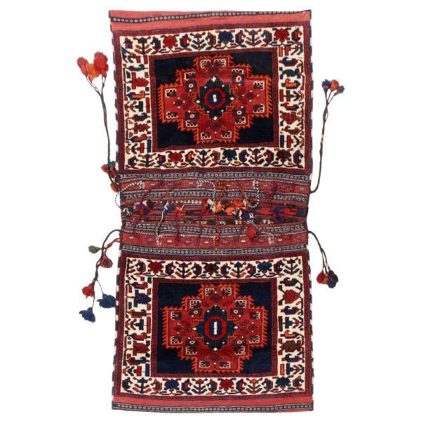 Antique Handwoven Iranian Tōbrag 5704383