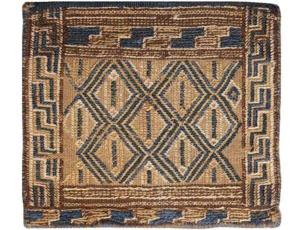Antique Persian Handwoven Tōbrag 100122