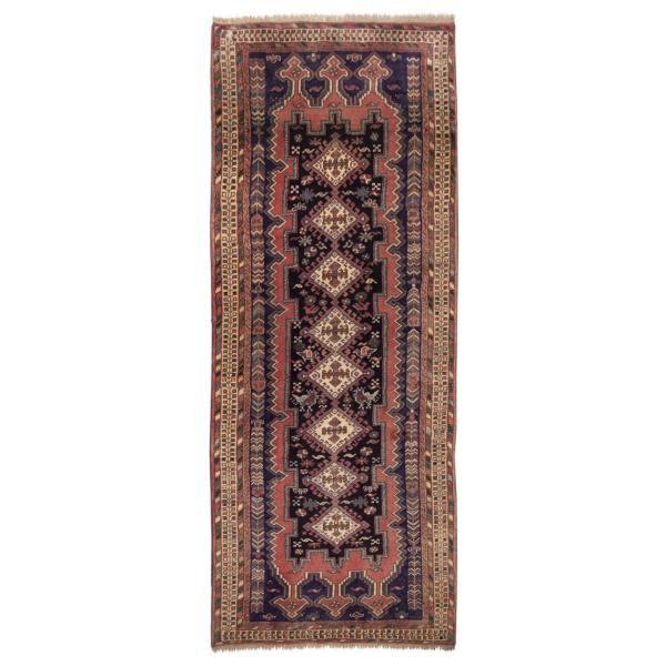 Sirjan Antique Handwoven Runner Carpet Rug