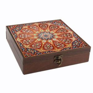 Wooden Gift & Tea Bag Box Model Majnoon