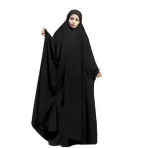 Arabic Women Namaz Black Tchador Model Diba