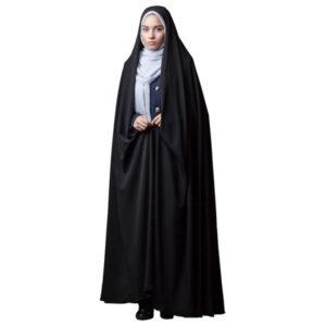 Arabic Women Namaz Black Tchador Model Fatemi