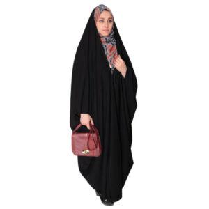 Arabic Women Namaz Black Tchador Model Zahra