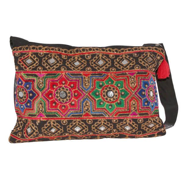 Balochi Embroidery Suzani Handbag Model Rainbow