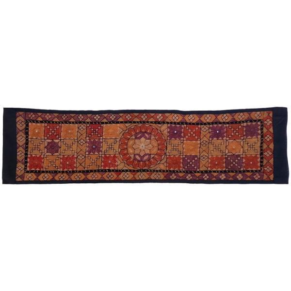 Balochi Embroidery Suzani Table Runner Model Mahtab01