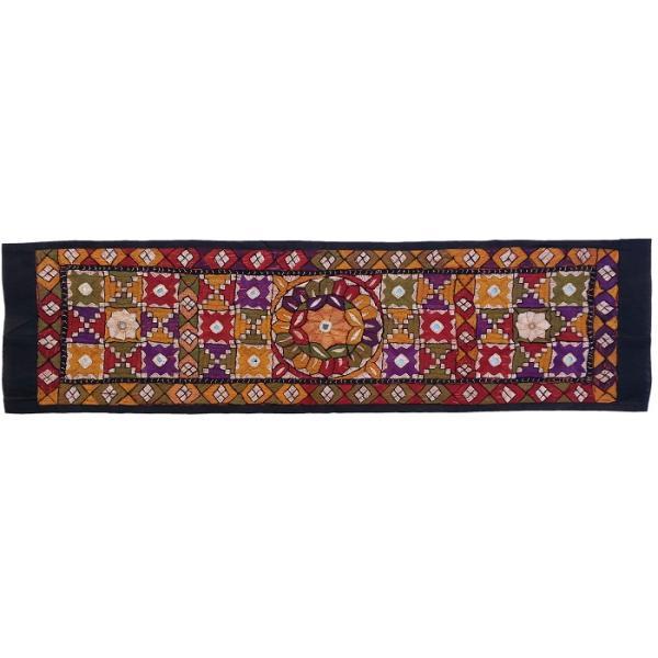 Balochi Embroidery Suzani Table Runner Model Soozra