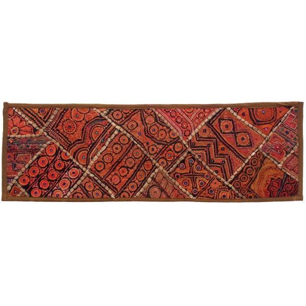 Iranian Embroidery Suzani Table Runner Model Adaak