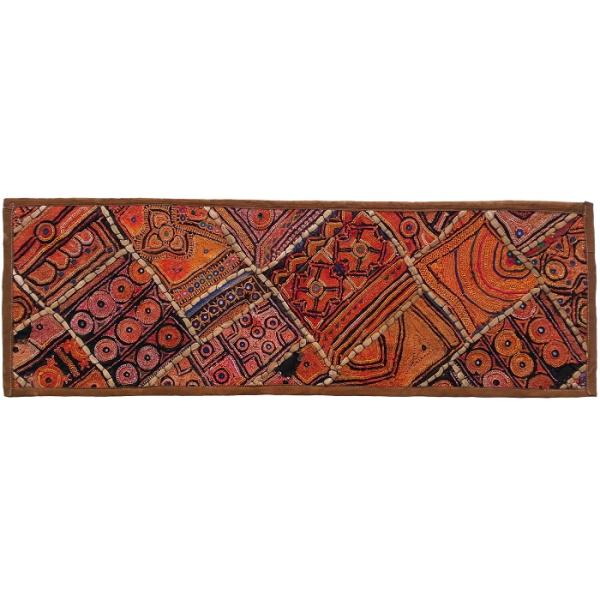 Iranian Embroidery Suzani Table Runner Model Adaak01