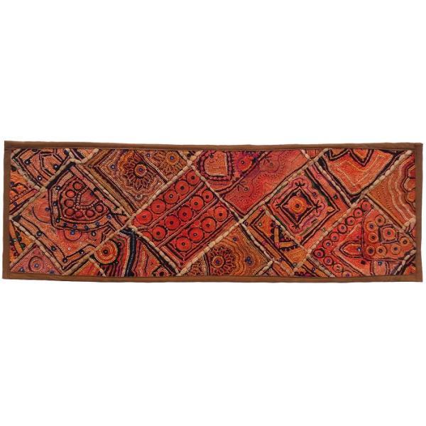 Iranian Embroidery Suzani Table Runner Model Adaak4