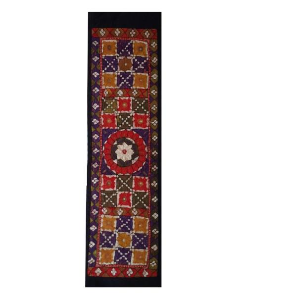 Iranian Embroidery Suzani Table Runner Model Darya11