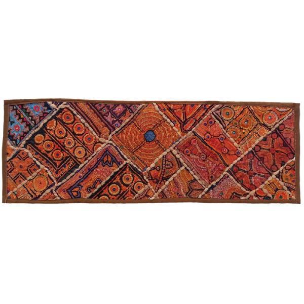 Iranian Embroidery Suzani Table Runner Model Nahal1