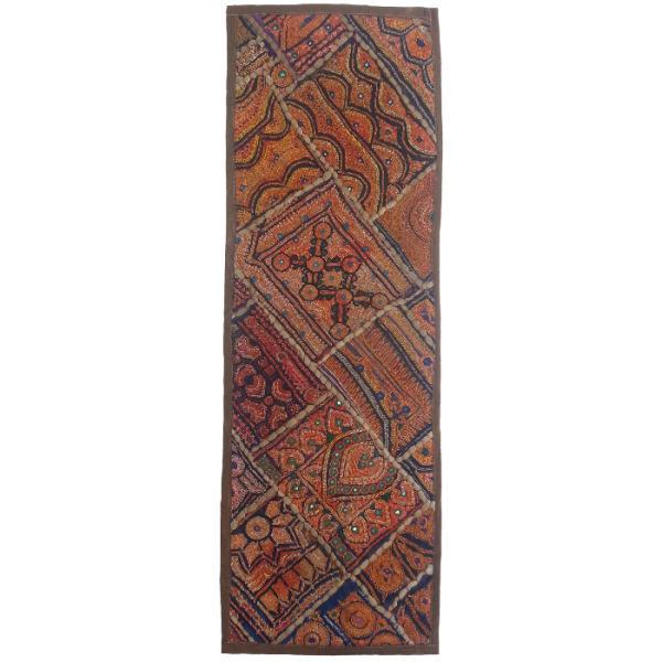 Iranian Embroidery Suzani Table Runner Model Nahal16