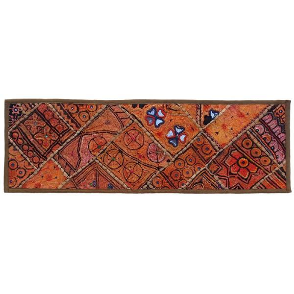 Iranian Embroidery Suzani Table Runner Model Nahal2