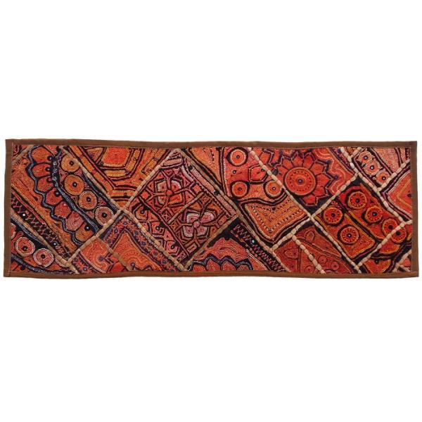 Iranian Embroidery Suzani Table Runner Model Zariran7