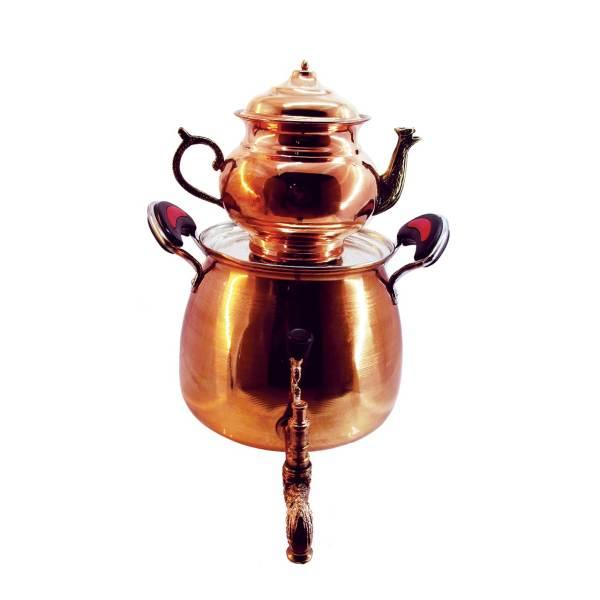 Iranian Hammered Copper Kettle & Teapots Model Mesin
