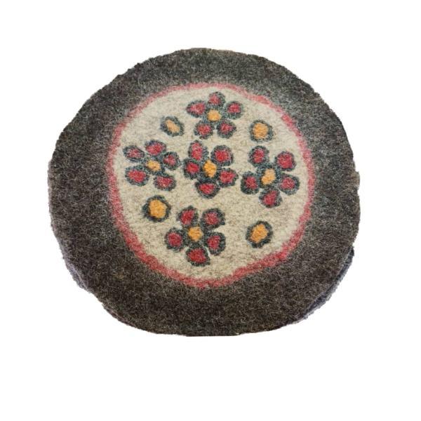 Iranian Handmade Wool Felt Rug Model Nila
