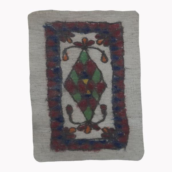 Iranian Handmade Wool Felt Rug Model Nila402