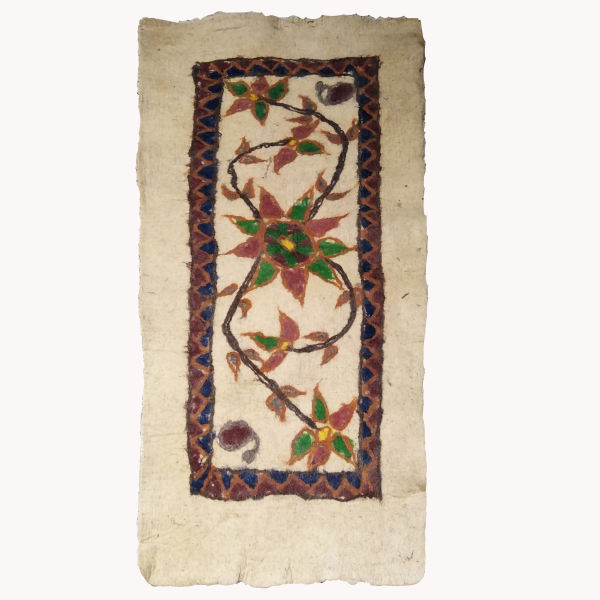 Iranian Handmade Wool Felt Rug Tiba