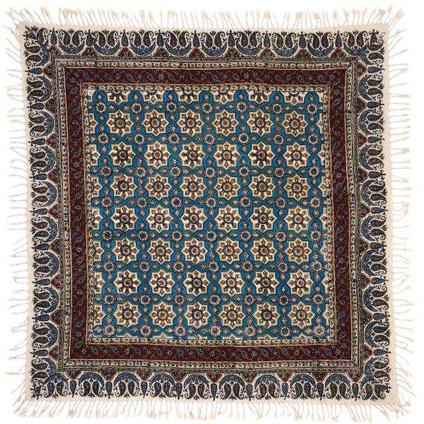 Iranian Kalamkari Tablecloth Model Hasiri
