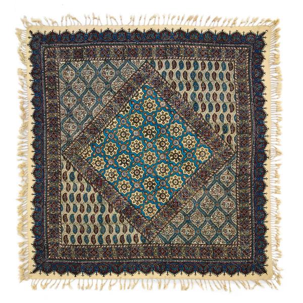 Iranian Kalamkari Tablecloth Model Khorshidi01