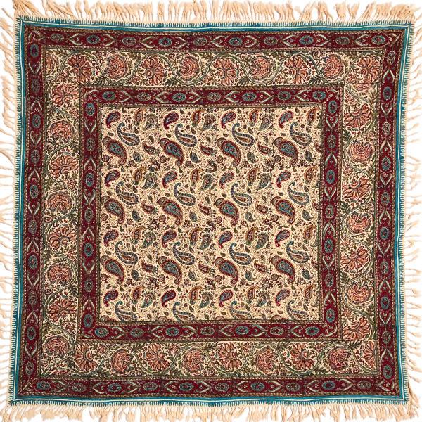 Iranian Kalamkari Tablecloth Model Majnooni01