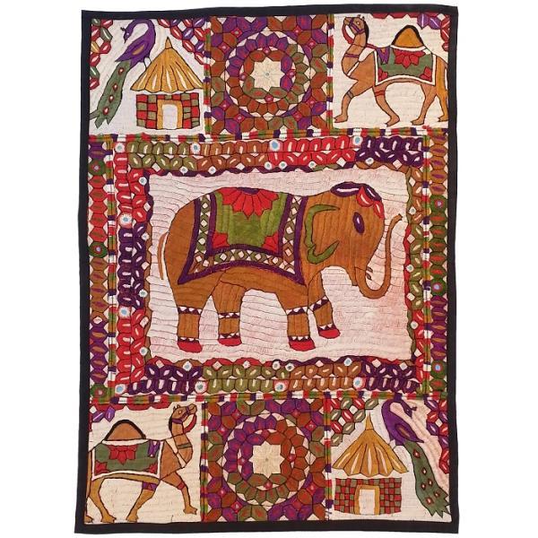 Iranian Suzani Embroidery Tablecloth Model Circus