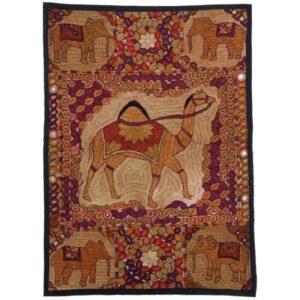 Iranian Suzani Embroidery Tablecloth Model Ghaab
