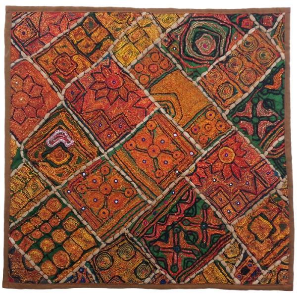 Iranian Suzani Embroidery Tablecloth Model Map