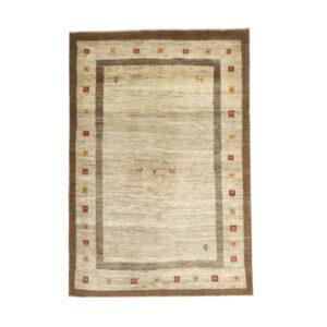 Iranian Wool Handwoven Gabbeh Rug Model Mahna