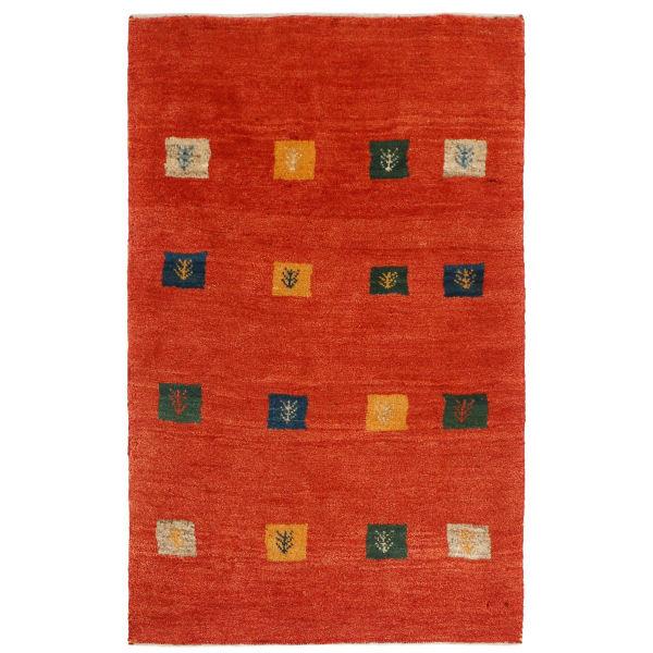 Iranian Wool Handwoven Gabbeh Rug Model Tabasom