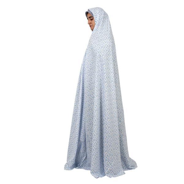 Islamic Women Blue Namaz Chador Model Gandom