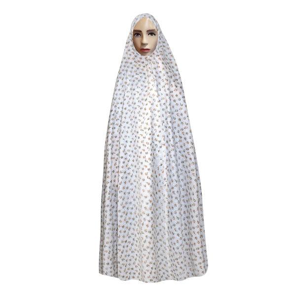 Islamic Women Namaz Chador Model White040