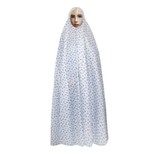 Islamic Women Namaz Chador Model White041
