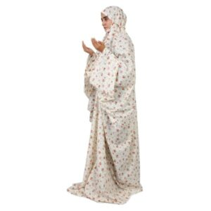 Islamic Women Namaz Chador Model White24
