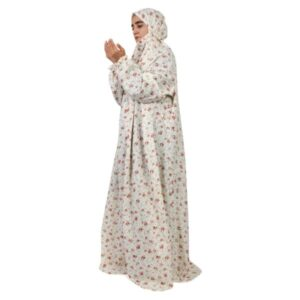 Islamic Women Namaz Chador Model White25