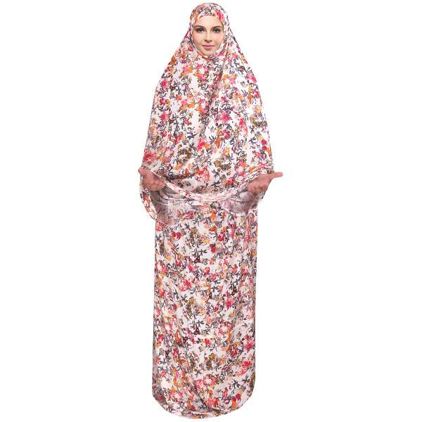 Islamic Women White Namaz Chador Model Niloufar