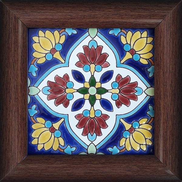 Persian Ceramic Tile Tableau Model Rainbow