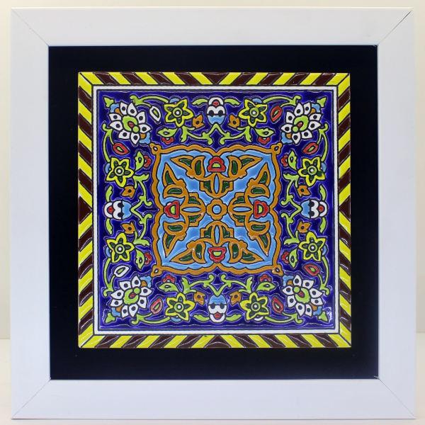 Persian Ceramic Tile Tableau Model Shamsin