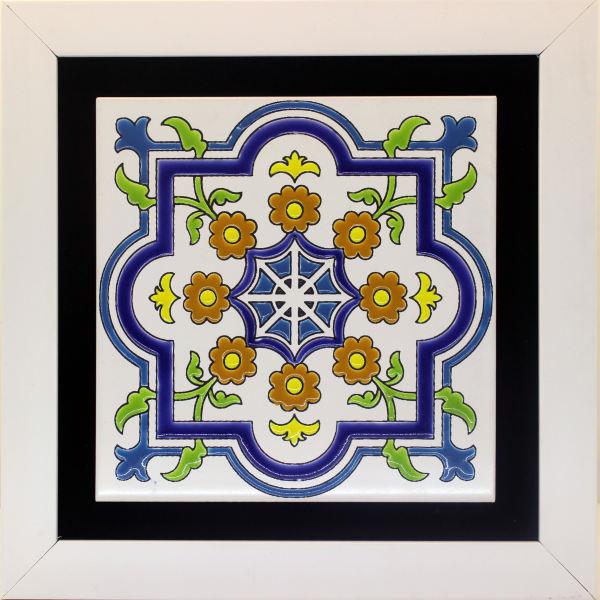 Persian Ceramic Tile Tableau Model Tahmour