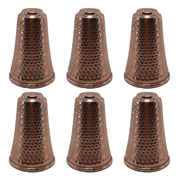 Persian Copper Salt Shaker Model Mountain (6X)
