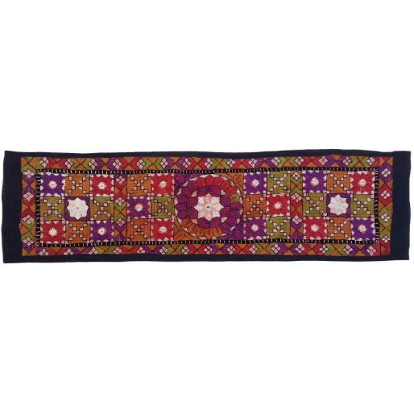 Persian Embroidery Suzani Table Runner Model Hana