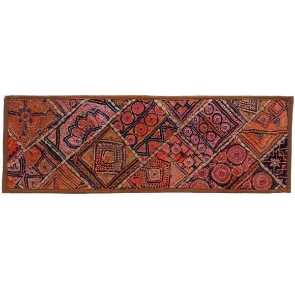 Persian Embroidery Suzani Table Runner Model Zariran1