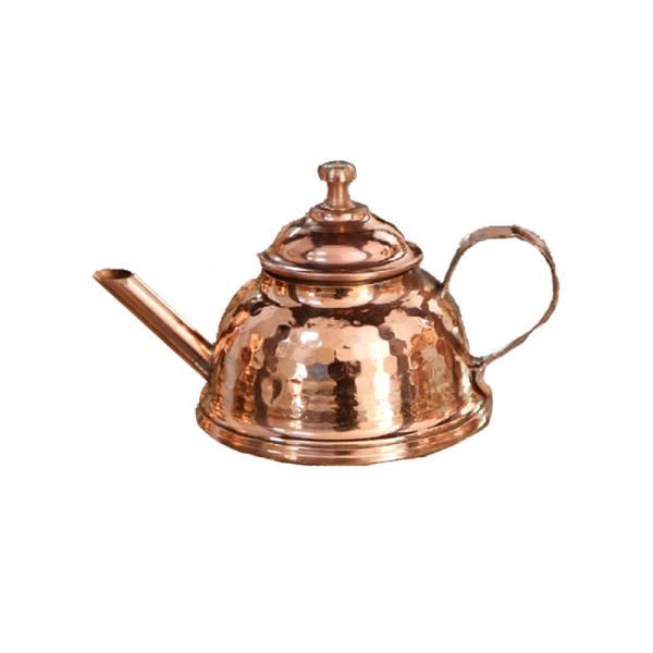 Persian Hammered Copper Tea Kettle Model Az02
