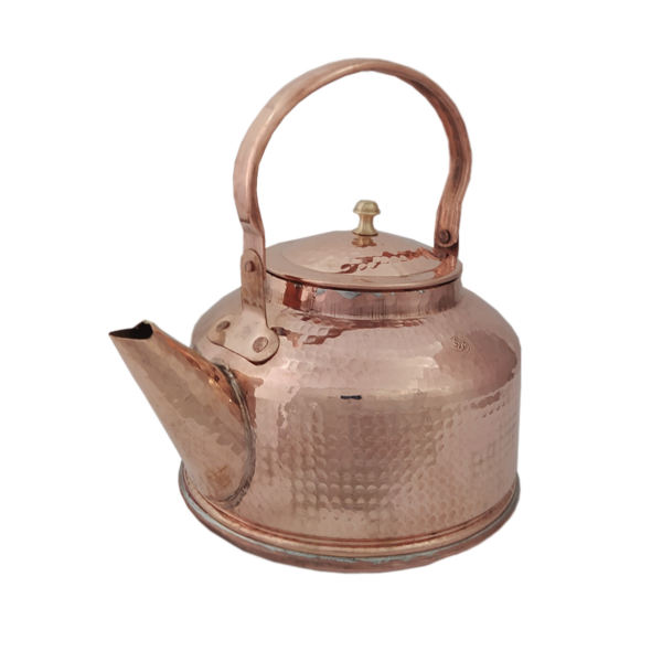 Persian Hammered Copper Tea Kettle Model Mahsa